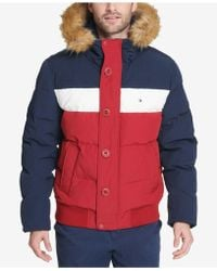 Tommy Hilfiger - Short Snorkel Coat, Created For Macy's - Lyst