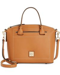 Dooney & Bourke - Beacon Domed Medium Smooth Leather Satchel - Lyst