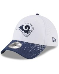 purchase cheap 4662f 873d5 KTZ St. Louis Rams Training Camp Reverse Bucket Hat in Blue for Men - Lyst