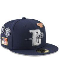 timeless design fdb06 f9760 KTZ Detroit Pistons Wowie Bucket Hat in Blue for Men - Lyst