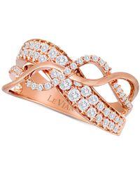Le Vian - ® Diamond Ring (3/4 Ct. T.w.) In 14k Rose Gold - Lyst