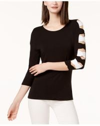 INC International Concepts | Bow-sleeve Sweater, Created For Macy's | Lyst