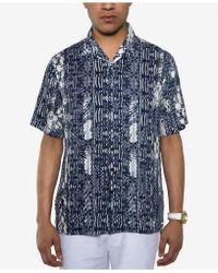 Sean John - Resort Shirt, Created For Macy's - Lyst