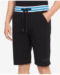 """Calvin Klein - Drawstring 10.5"""" Inseam Shorts - Lyst"""