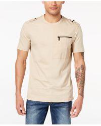 Sean John - Zip-pocket T-shirt, Created For Macy's - Lyst