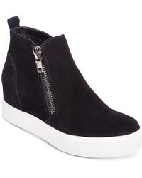 Steve Madden - Women's Wedgie Wedge Trainers - Lyst