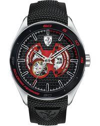 Ferrari - Men's Automatic Gran Premio Black Silicone Strap Watch 47mm 0830348 - Lyst