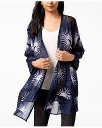 Alfani - Embroidered Kimono, Created For Macy's - Lyst