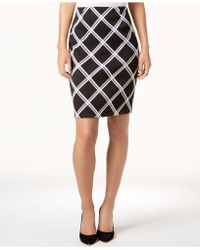 Alfani - Printed Pencil Skirt, Created For Macy's - Lyst