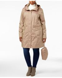 Cole Haan - Signature Plus Size Packable Unlined Raincoat - Lyst