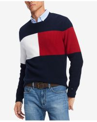 Tommy Hilfiger - Clayton Colorblocked Sweater, Created For Macy's - Lyst