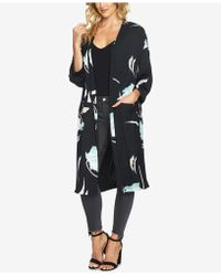 1.STATE - Printed Open-front Jacket - Lyst