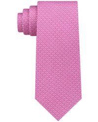 Michael Kors - Geometric Silk Tie - Lyst