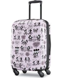 """American Tourister - Minnie & Mickey Mouse 21"""" Carry-on Spinner - Lyst"""