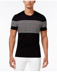 INC International Concepts - Men's Introspection Striped T-shirt - Lyst