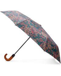 Patricia Nash Fall Tapestry Magliano Umbrella - Blue