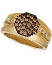 Le Vian - Gentstm Men's Diamond Cluster Ring (3/4 Ct. T.w.) In 14k Gold - Lyst