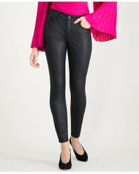 INC International Concepts - I.n.c. Petite Coated Black Skinny Jeans, Created For Macy's - Lyst