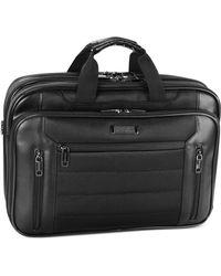 Kenneth Cole Reaction - Laptop Case, Double Gusset Top Zip Checkpoint Friendly Computer Case - Lyst