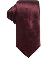 Alfani - Men's Solid Silk Slim Tie, Created For Macy's - Lyst