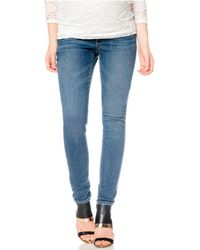 Jessica Simpson - Maternity Skinny Jeans, Medium Wash - Lyst