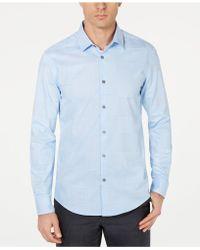 Alfani - Layton Fine Line Shirt, Created For Macy's - Lyst