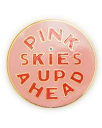 Ban.do - Pink Skies Up Ahead Enamel Pin - Lyst