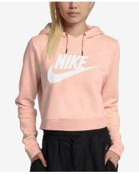 Nike - Sportswear Rally Women's Cropped Hoodie - Lyst