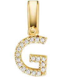 Michael Kors - Custom Kors 14k Gold-plated Sterling Silver Letter Charm - Lyst