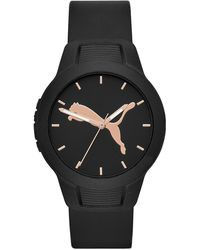 PUMA - Reset Polyurethane Strap Watch 36mm - Lyst