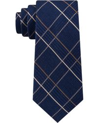 Michael Kors - Roped Glen Plaid Tie - Lyst