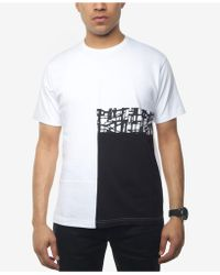 Sean John - Patchwork T-shirt, Created For Macy's - Lyst
