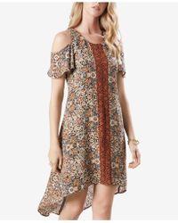 Karen Kane - Cold-shoulder A-line Dress - Lyst