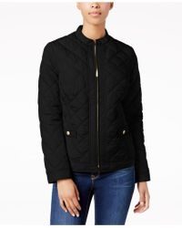 Charter Club - Petite Quilted Jacket - Lyst