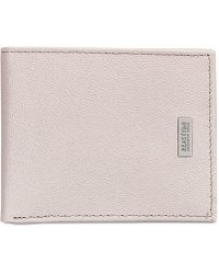 Kenneth Cole Reaction - Hinton Leather Bi-fold Wallet - Lyst