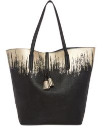 Splendid | Key West Extra-large Foil-print Tote | Lyst