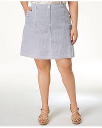 Karen Scott - Plus Size A-line Skort, Created For Macy's - Lyst