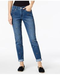 Maison Jules - Stud-embellished Jeans, Created For Macy's - Lyst