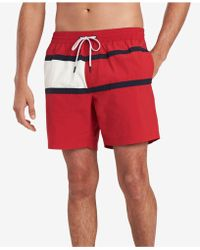 4693d5b7a0d8c5 Tommy Hilfiger - Tommy Flag Swim Trunks