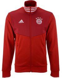 9f42e3e9ae0 adidas - Bayern Munich Club Team 3 Stripe Track Jacket - Lyst