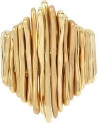 Robert Lee Morris - Gold-tone Multi-stick Stretch Ring - Lyst