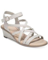 Dr. Scholls - Gemini Wedge Sandals - Lyst
