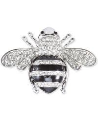 Nina - Honeybee Crystal Pin - Lyst