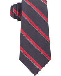 Calvin Klein - Molten Bar Stripe Slim Tie - Lyst
