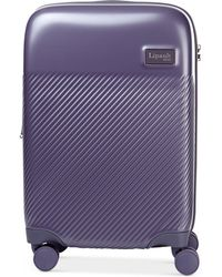 "Lipault - Dazzling Plume 20"" Expandable Hardside Carry-on Spinner Suitcase - Lyst"