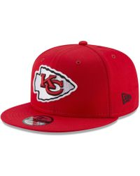294a9cbbb07 Lyst - KTZ Kansas City Chiefs Team Stripe Bucket Hat in Red for Men