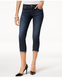 Kut From The Kloth - Petite Maggie Cropped Skinny Jeans - Lyst