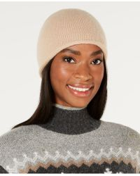 Charter Club - Rolled Cashmere Beanie, Created For Macy's - Lyst