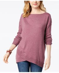 Style & Co. - Asymmetrical Jumper, Created For Macy's - Lyst