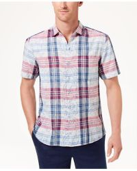 Tommy Bahama - Zuma Plaid Shirt - Lyst